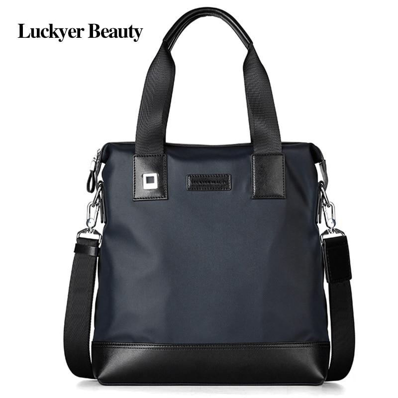LUCKYER BEAUTY Brand Designer Men Bag Fashion Handbag Nylon Shoulder Bags High Q