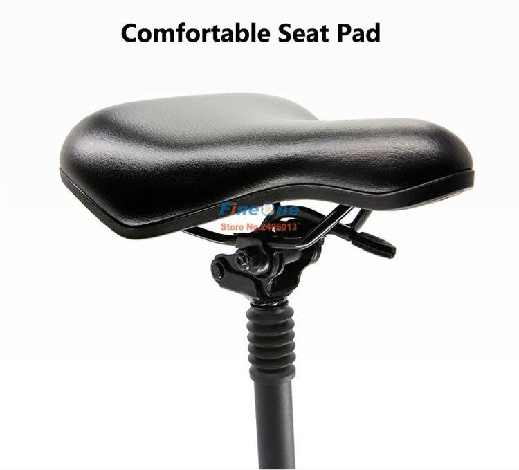 Original xiaomi m365 scooter assento dobrável sela