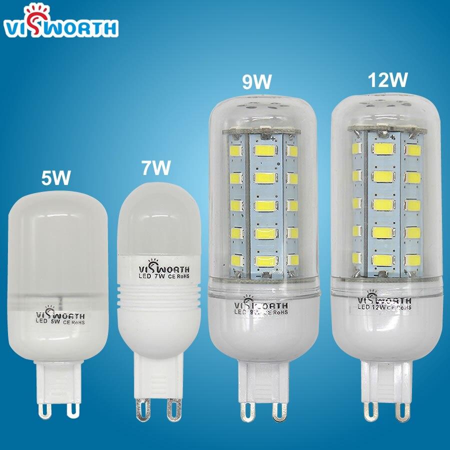 ©G9 светодиодный светильник 360 градусов светодиодный ...