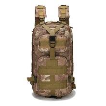 NoEnName_Null calidad 25L 3 P Deporte Al Aire Libre Táctico Militar Mochila Bolsa mochila para Acampar Viajar Senderismo Trekking