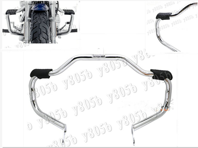 Chrome Metal Steel Engine Guard Crash Bar For Harley