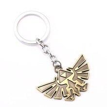 Легенда о Зельде ключ звено цепи брелоки для подарка брелок для ключей от автомобиля chaveiro ювелирные изделия игры сувенир, брелок для ключей YS11491