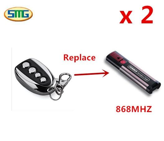 SOMMER 4026, 4020 Compatible 868,8MHz remote control transmitter for garage door