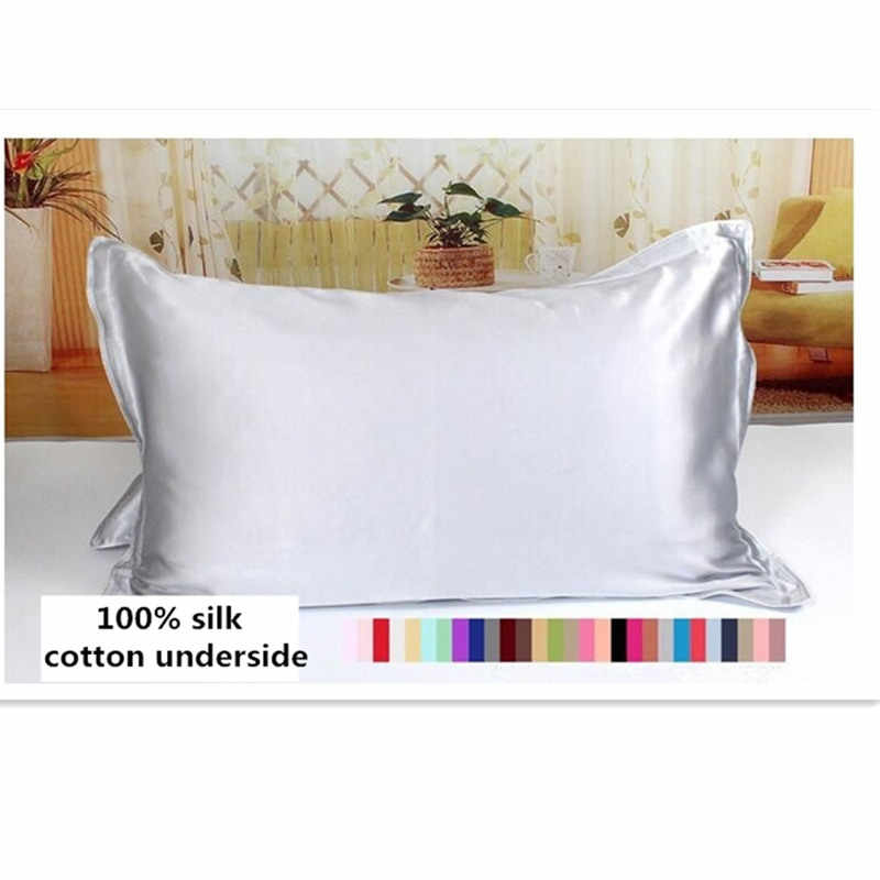 Lilysilk Pure 100 Silk Pillowcase Hair With Hidden Zipper