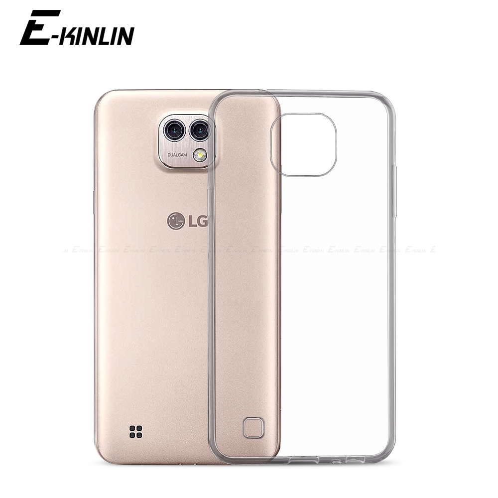 Ultra Thin Slim Clear Soft Protective TPU Case For LG X