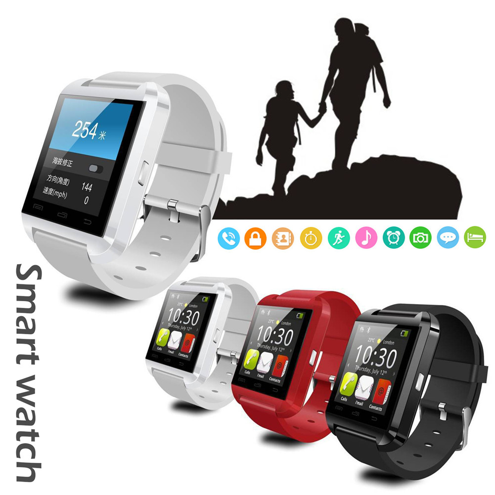 Smartwatch Bluetooth Smart Watch U8 For iPhone IOS Android Smart Phone Wear  Clock Wearable Device Smartwatch PK GT08 DZ09