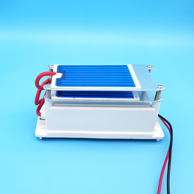 Hot Sell! 7g Ceramic Plate Ozone Generator / Generado De Ozono Quick Deodorization + Optional US/Euro Plug + Free Shipping