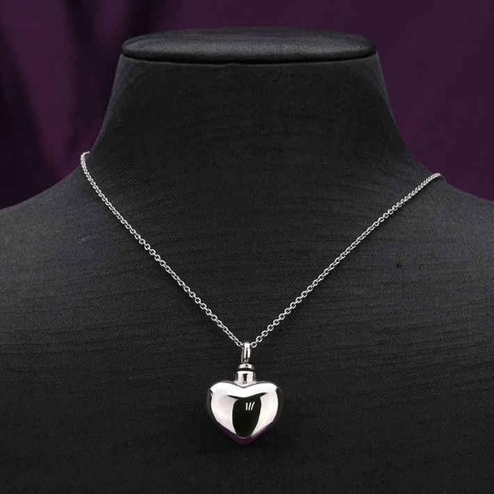 Лидер продаж uny из нержавеющей стали кремации ювелирных изделий сердца пепел кулон ожерелье urn мемориал keepsake Бесплатная доставка