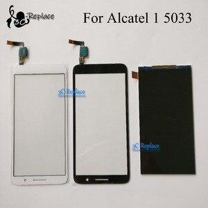 Image 1 - Pour Alcatel 1 5033 5033A 5033J 5033X 5033D 5033 T moniteur LCD affichage numériseur écran tactile pour Telstra essentiel Plus 2018