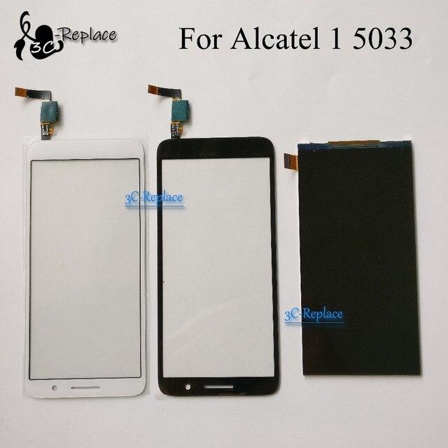 Pour Alcatel 1 5033 5033A 5033J 5033X 5033D 5033 T moniteur LCD affichage numériseur écran tactile pour Telstra essentiel Plus 2018