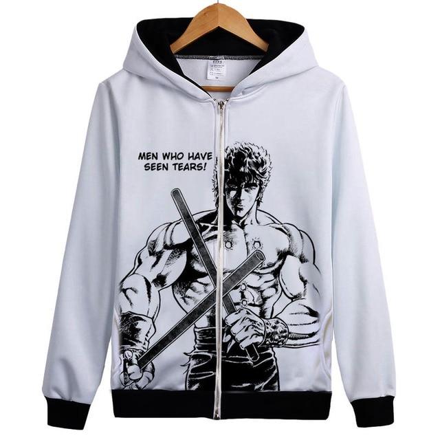 Anime Fist Of The North Star Hoodie Sweatershirt Hokuto No