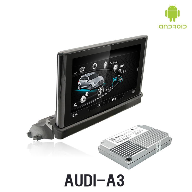 NVTECH 7 ''Мультимедиа Навигация приборной панели для Audi A3 DVD плеер с WI FI подключение 2014 2018