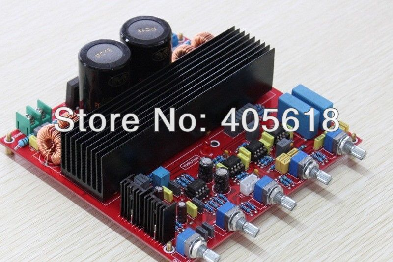 TDA8950TH 2.1 Power amplifier board 2*150W+250W assembled board class D assembled mt 150 150w class a ab power amplifier board no heatsink