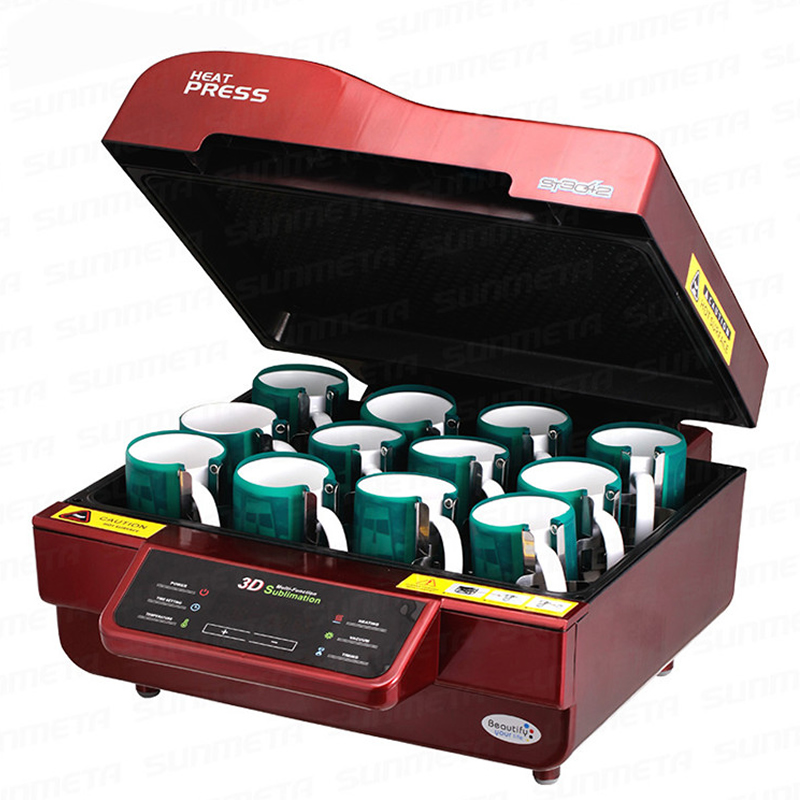 ST-3042 Digital 3D Sublimation Heat Transfer Machine 3D Vacuum Heat Press Machine for Cases Mugs Plates Wine Glasses 1pc mould for 3d ipad case 3d vacuum sublimation machine heat press transfer