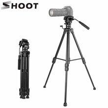 SHOOT Aluminum Alloy Flexible Camera Tripod Stand Portable T