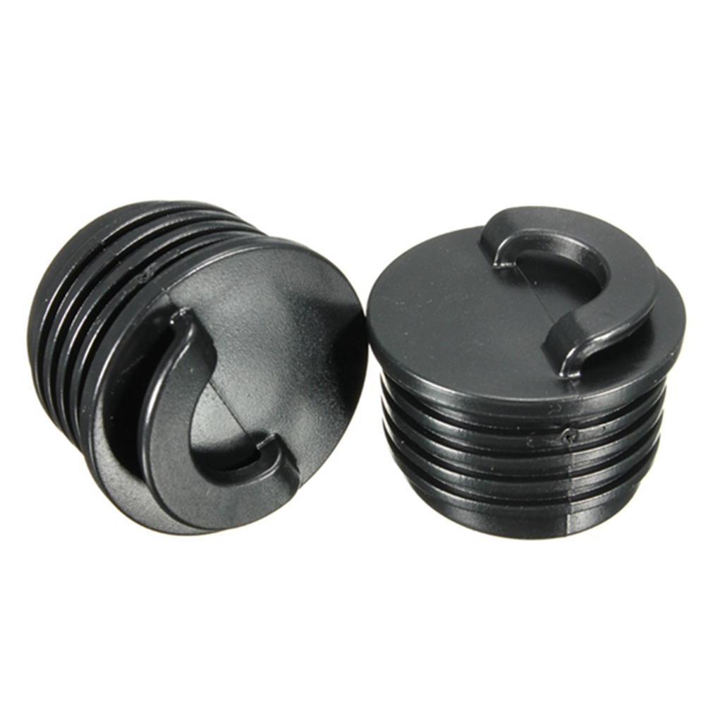 2pcs/set Durable Outdoor Canoe Waterproof Plug Easy Install Portable Boating Kayak Accessories Rubber Professional Drain Stopper