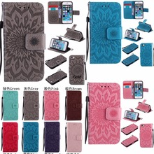 For Sony Xperia Z3 Z4 Z5 Mini M2 M4 M5 XA Ultra E5 L1 Sun Flower Flip Case Wallet PU Leather Stand Cover Shockproof Case Phones стоимость