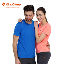 KingCamp Workout Running Clothes For Men Quick Dry Shirt Mens Slim Fit Sports Shirt Slim Fit Gym Clothing Sportswear Sweaters