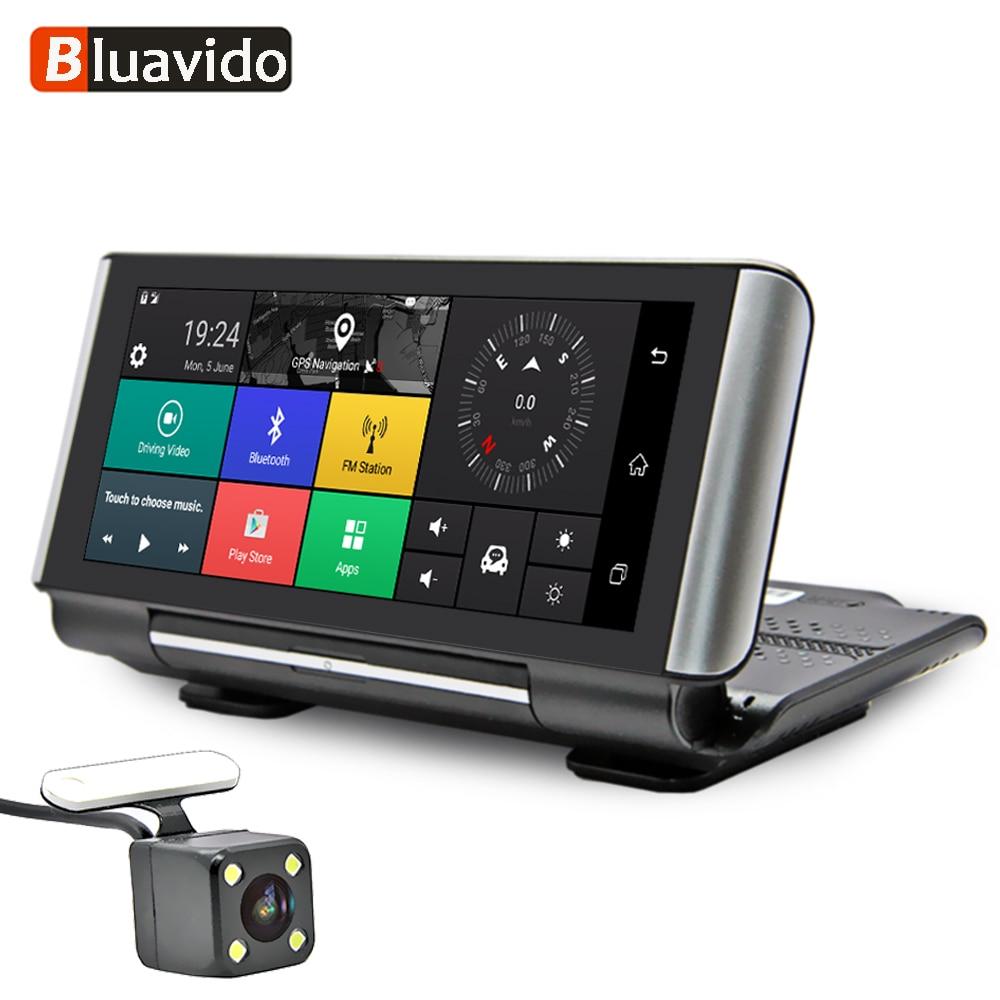 Bluavido DVR WIFI Car-Dash-Camera Android Navigation Remote-Monitor Auto-Video-Recorder