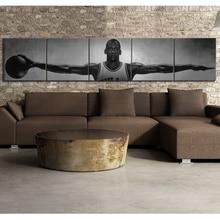 Michael Jordan alas estrella de baloncesto carteles de lona Estilo Vintage pinturas decorativas decoración de pared del hogar imágenes para sala de estar