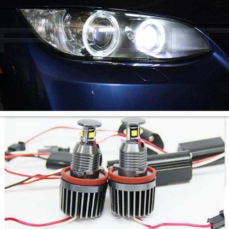 H8 40W Angle Eyes Led Error Free Fog Headlight For BMW X5 E70 X6 E71 E60