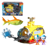 Octonauts Vehicles Boat Ship Submarines Toys Captain Barnacles Kwazi Figures Kids Best Xmas Gift