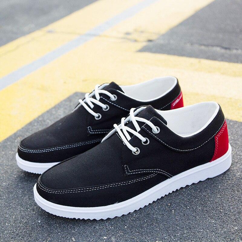 Hevxm Verano Hombres Marca Los Causales De Nuevo Zapatillas Respirables Para q2 Zapatos Q1 Lona 2018 Calzado Clásicos Planos qOAwFqr
