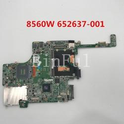 Haute qualité pour Elitebook 8560w 8560P carte mère d'ordinateur portable 652637-001 652637-501 652637-601 QM67 DDR3 100% testé
