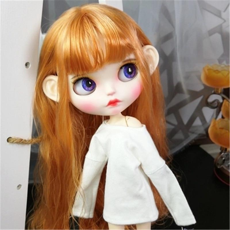 Oyuncaklar ve Hobi Ürünleri'ten Bebekler'de Prenses 30 cm 1/6 BJD Bebekler Modeli Ile Uzun Sarı Saç Yüksek Kaliteli Su Geçirmez Blythe Doll Hareketli Vücut Ortak Bebek Sıcak noel Oyuncaklar'da  Grup 3