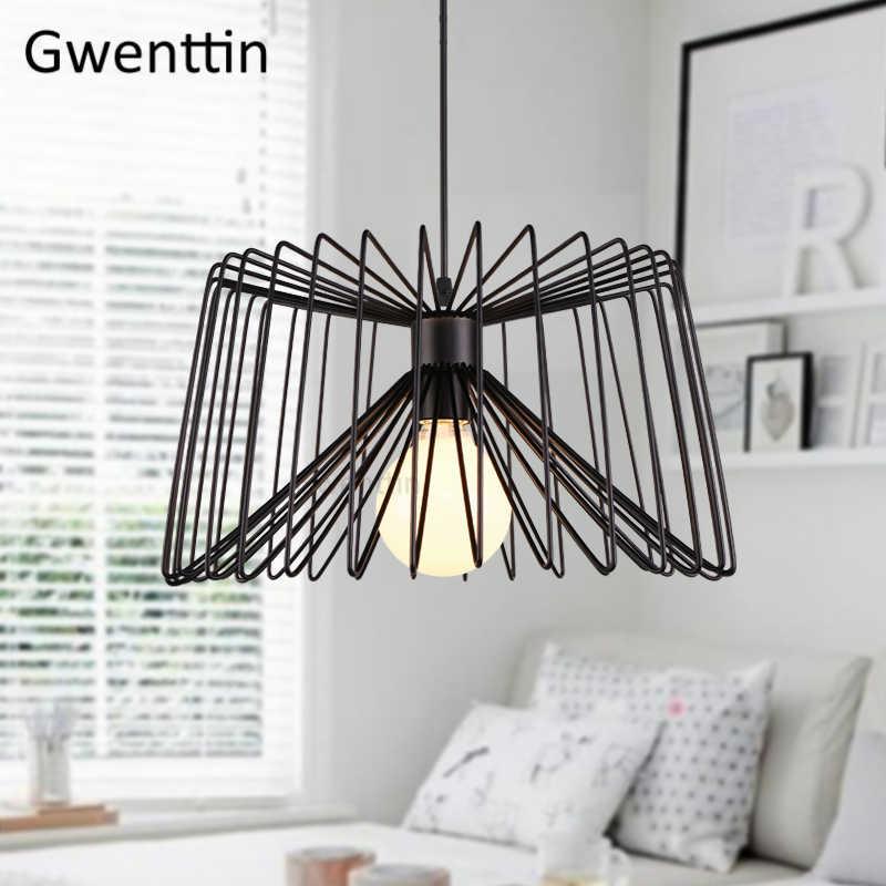 Скандинавская железная линия, современные подвесные светильники, обеденные лампы, подвесные светильники для кухни, подвесной светильник для гостиной, домашний декор