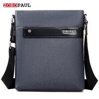 ZOROPAUL NEW Men Fashion PU Leather Men S Messenger Business Handbags High Quality Male Designer Shoulder