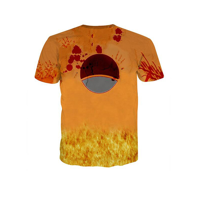 3D Naruto Movie Street Style One Piece T Shirts