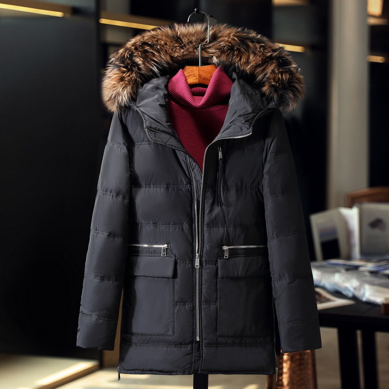 2017 winter jacket men coat duck down jacket with fur hood Removable parka men coat masculine jacket Plus Size 3XL