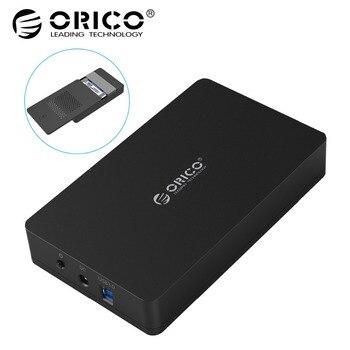 ORICO 3569S3 3.5 pouce disque Dur boîte Sata 3.0 USB 3.0 HDD Cas Outil Livraison Support UASP Protocoles ORICO Dur boîtier de disque
