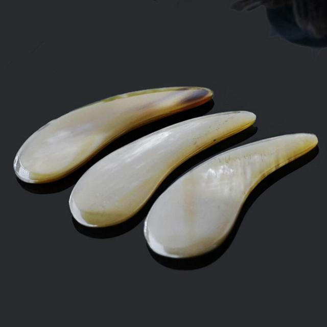 Brown Yak Horn Gua Sha Massage Tool