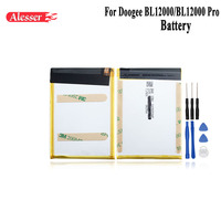 Alesser For Doogee BL12000 BL12000 Pro Battery 12000mAh Replacement Accessory Accumulators For Doogee BL12000 BL12000 Pro +Tools