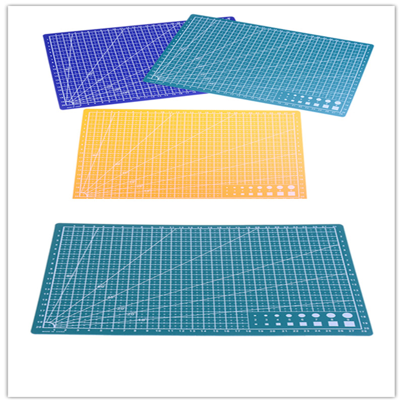 1PC New 30*22cm A4 Grid Lines Self Healing Cutting Mat Craft Card Fabric Leather Paper Board