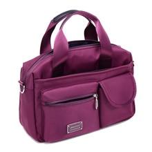 Top Handle กระเป๋าออกแบบกระเป๋าถือคุณภาพสูงกระเป๋าเดินทางกระเป๋าผู้หญิง Casual Tote หญิงไนล่อน Bolsa Feminia Messenger กระเป๋า