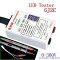 0-300 V LED TV LCD Probador de granos de La Lámpara de mesa de Luces luz GJ2C strip backlight revisión regulador de Voltaje Ajustable detector de luz