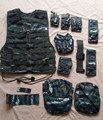 Tactical Vests Military Twelve Sets Combination Vest Molle Camo Paintball Army Airsoft Armor Vest Bulletproof Vest Colete  Oxfor