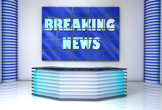 Laeacco Breaking News Studio Interior Scene Photography Backdrops Vinyl Backdrop Custom Backgrounds For Photo
