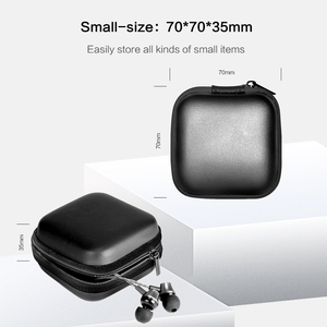Image 4 - DATA FROG Portable Case for Headphones Earphone Storage Carrying Bag for SD TF Cards USB Flash Earphone Headphone Accessories