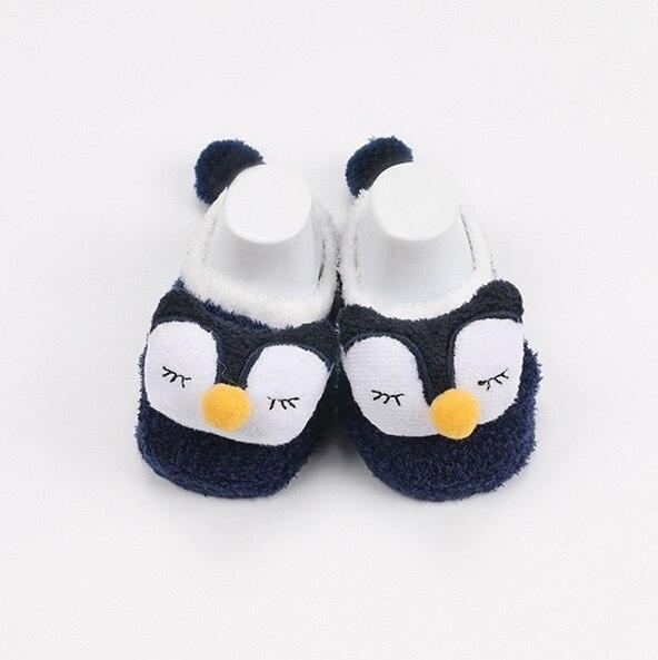3f8a2145174ba Fete   baby îmbrăcăminte Cartoon baby socks newborn Winter Coral Fleece  infant Socks Bebe Infantil Meias Para Bebe Chausson Chaussette Enfant meia  infant