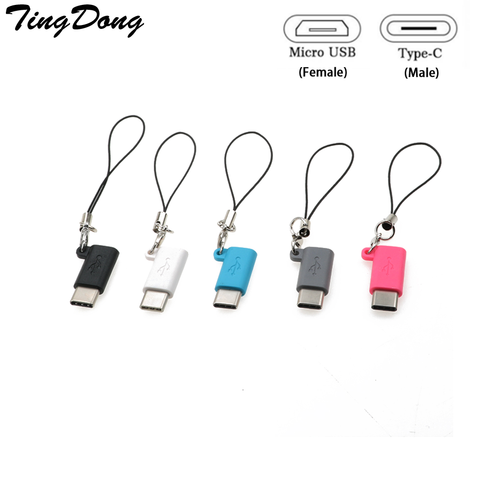 Micro USB Female To Type C 3.1 Male Cable Adapter Charge USB C Converter For Samsung S8 /LG For Huawei Zte For Letv For Xiaomi
