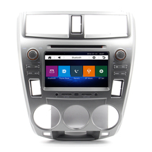 Car DVD Player audio GPS navigation system For Honda City 2012 With GPS Free Map