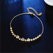 TJP New Fashion Ladies Gold Eye Bracelets Accessories Women Trendy Silver 925 Bracelets For Girl Birthday Party Gift Jewelry Hot цена и фото