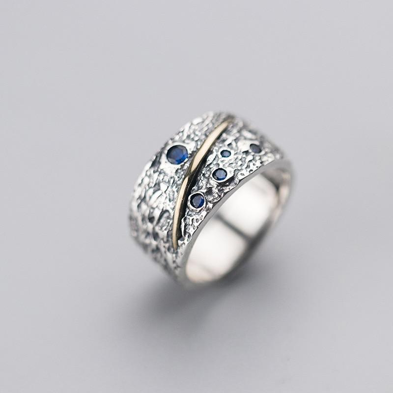 Punk Ring 925 Silver Boho Jewelry Vintage Anel Charm Minimalism Joyas Haut Bague Femme Aneis Anelli Rings for Women Anillos кольцо valen bela 925 aneis anillos feminino jz5020