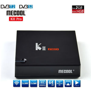Image 3 - DVB S2/T2 Mecool KII PRO Android 7.1 TV Box Amlogic S905D K2 PRO QuadCore 2G16G 4K Support NEWCAMD Dual Wifi BT4.0
