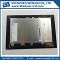 Для Sony Xperia Tablet Z2 Xperia SGP511 SGP512 SGP521 SGP541 LCD дисплей + Сенсорный Экран Ассамблея Черный Запчасти На Складе