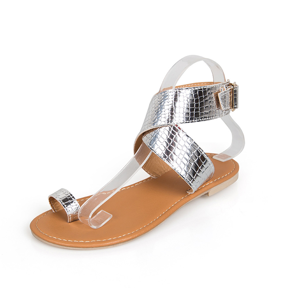 fb6426d7a236a Women Sandals Summer Flip Flops Women s Beach Sandals Women Shoes Bands Flat  Shoes Gladiator Cross Belt